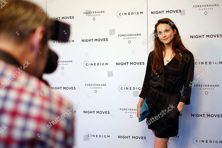 "Actress Maya Kazan attends a special screening of ""Night Moves"" at the Sunshine Landmark, in New York"