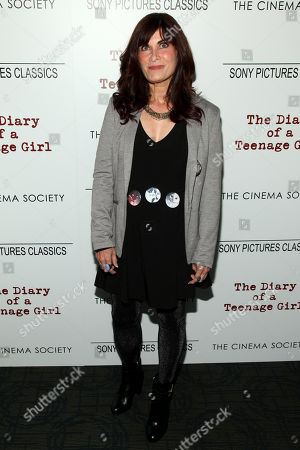 "Stock Photo of Phoebe Gloeckner attends a special screening of ""The Diary of a Teenage Girl"", hosted by The Cinema Society and Sony Pictures Classics, at the Landmark Sunshine Cinema, in New York"