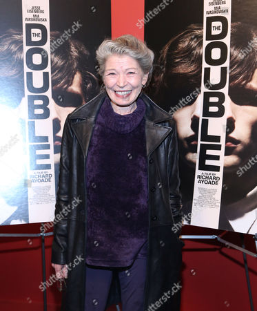 "Phyllis Somerville attends the screening of ""The Double"" at the Landmark Sunshine Theater on in New York"