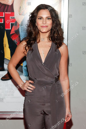 """Stock Picture of Rebecca Weil attends a special screening of """"The Duff"""" at AMC Loews Lincoln Square, in New York"""