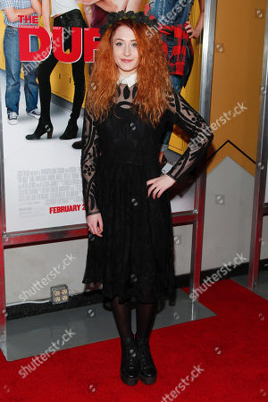 """Janet Devlin attends a special screening of """"The Duff"""" at AMC Loews Lincoln Square, in New York"""