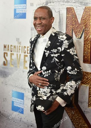 """Freddie Jackson attends a special screening of """"The Magnificent Seven"""" at The Museum of Modern Art, in New York"""