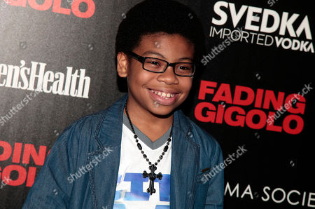 """Actor Dante Hoagland attends a screening of """"Fading Gigolo"""" sponsored by the Cinema Society and Women's Health magazine, in New York"""