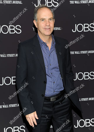 """Andy Serwer attends a special screening of """"JOBS"""" hosted by The Wall Street Journal at the Museum of Modern Art on in New York"""