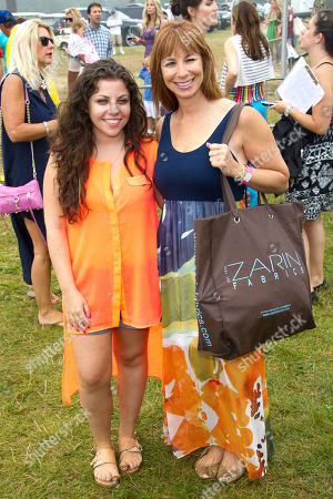 Jill Zarin, right, and Ally Shapiro attend the Ovarian Cancer Research Fund's 15th Annual Super Saturday on in Water Mill, NY
