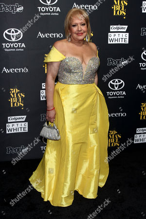 """Nancy Alvarez attends the People en Espanol's """"50 Most Beautiful"""" Issue Party at Espace, in New York"""