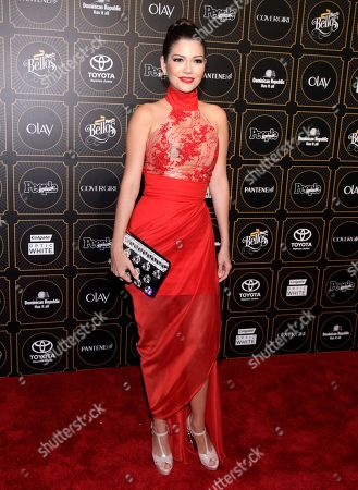 "Fashion model Ana Patricia Gonzalez attends People en Espanolâ?™s ""50 Most Beautiful"" Issue Celebration, in New York"