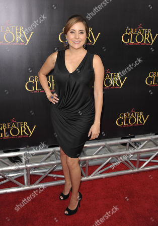 """Stock Photo of Karyme Lozano attends the premiere of """"For Greater Glory"""" at AMPAS Theatre on in Beverly Hills, Calif"""