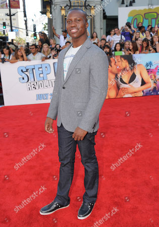 """Amadou Ly arrives at the premiere of """"Step Up Revolution"""", in Los Angeles"""