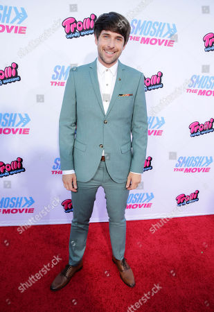 """Ian Hecox seen at the Los Angeles Premiere of AwesomenessTV and Defy Media's """"SMOSH: THE MOVIE"""" held at Westwood Village Theatre, in Los Angeles"""