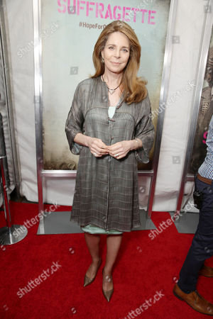 HRH Queen Noor seen at New York Premiere of Focus Features 'Suffragette' at the Paris Theatre on in New York