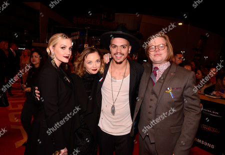 Editorial image of Premiere of Lionsgate's 'The Hunger Games: Mockingjay - Part 2', Los Angeles, USA - 16 Nov 2015
