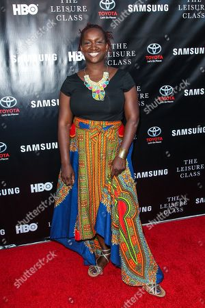 Effie Brown attends The Project Greenlight Season 4 premiere of 'The Leisure Class' at The Theatre At The Ace Hotel on in Los Angeles