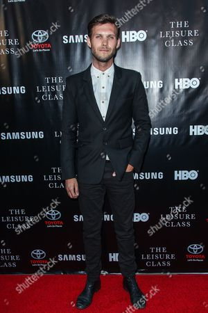 Benjamin Rigby attends The Project Greenlight Season 4 premiere of 'The Leisure Class' at The Theatre At The Ace Hotel on in Los Angeles