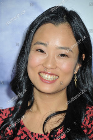Diana Bang arrives at Refinery 29 Los Angeles Holiday Party at Sunset Towers, in Los Angeles