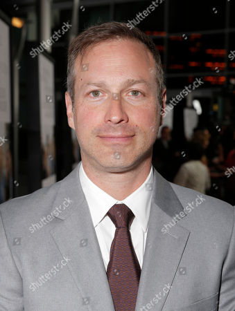 """Stock Image of Director/Writer Stuart Blumberg arrives on the red carpet at the Los Angeles Premiere of """"Thanks for Sharing"""" at the ArcLight Cinerama Dome on in Los Angeles"""