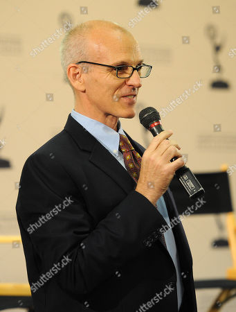 """Stock Photo of NORTH HOLLYWOOD, CA - OCTOBER 6: Ray Proscia, Co-Chair, Entertainment for the Television Academy at """"Script to Pilot - A Conversation with Matthew Weiner"""" at the Academy of Television Arts & Sciences Conference Center on in North Hollywood, California"""