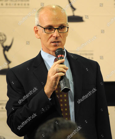 """NORTH HOLLYWOOD, CA - OCTOBER 6: Ray Proscia, Co-Chair, Entertainment for the Television Academy at """"Script to Pilot - A Conversation with Matthew Weiner"""" at the Academy of Television Arts & Sciences Conference Center on in North Hollywood, California"""