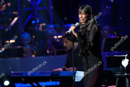 Singer Natalie Cole performs during the SeriousFun Children's Network event at the Dolby Theatre, in Los Angeles. Founded by the actor Paul Newman in 1988, the network is a global community of 30 camps and programs serving children with serious illnesses