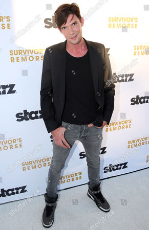"""Toby Schmitz arrives at the premiere of the STARZ original series """"Survivor's Remorse"""" on in Los Angeles. """"Survivor's Remorse"""" premieres Saturday, Oct. 4 exclusively on STARZ"""