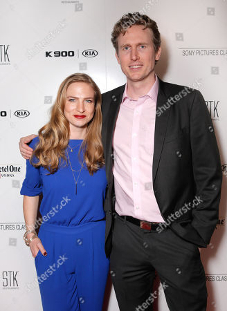 Helen Estabrook and Couper Samuelson are seen at the Sony Pictures Classics Oscar Nominees Gala at Supper Suite at STK hosted by Ketel One Vodka, in Los Angeles, Calif