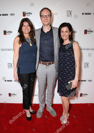 Stock Photo of Elizabeth Sterns, from left, James Brown, and Lisa Genova are seen at the Sony Pictures Classics Oscar Nominees Gala at Supper Suite at STK hosted by Ketel One Vodka, in Los Angeles, Calif