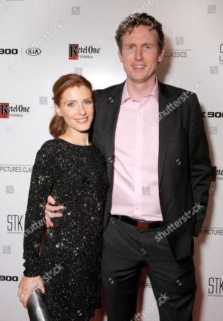 Julia Boorstin and Couper Samuelson are seen at the Sony Pictures Classics Oscar Nominees Gala at Supper Suite at STK hosted by Ketel One Vodka, in Los Angeles, Calif