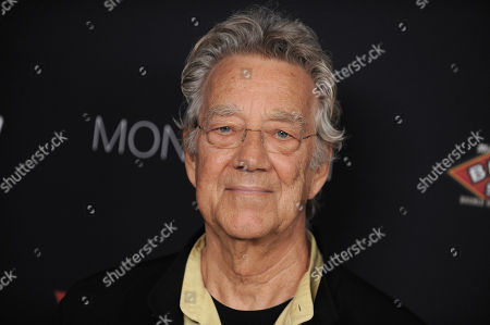 Ray Manzarek attends the Sunset Strip Music Festival VIP party at SkyBar, in West Hollywood, Calif