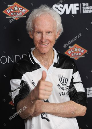 Robby Krieger attends the Sunset Strip Music Festival VIP party at SkyBar, in West Hollywood, Calif