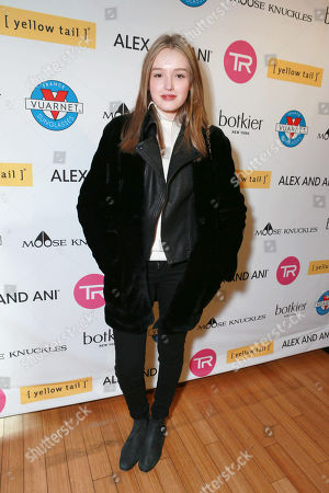 Maddison Brown attends Talent Resources Suites,, in Park City, Utah