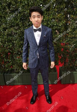 Lance Lim arrives at night one of the Television Academy's 2016 Creative Arts Emmy Awards at the Microsoft Theater on in Los Angeles