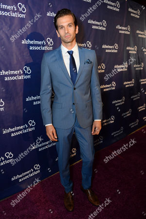 """Colin Owens arrives at the 22nd annual """"A Night At Sardi's"""" to benefit the Alzheimer's Association at the Beverly Hilton Hotel, in Beverly Hills, Calif"""