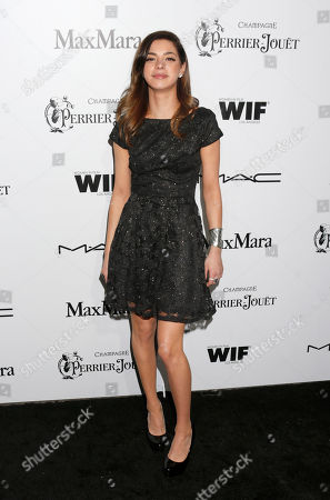 Gia Mantegna attends the 6th Annual Women in Film Pre-Oscar cocktail party at Fig and Olive on in Los Angeles