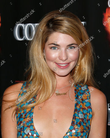 "Shannon Lewis attends ""The Cottage"" premiere at The Academy of Motion Pictures Arts and Sciences, in Beverly Hills, Calif"