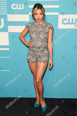 Ciara Renee attends The CW Network 2015 Programming Upfront Presentation at The London Hotel, in New York