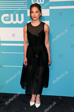 Kristin Kreuk attends The CW Network 2015 Programming Upfront Presentation at The London Hotel, in New York