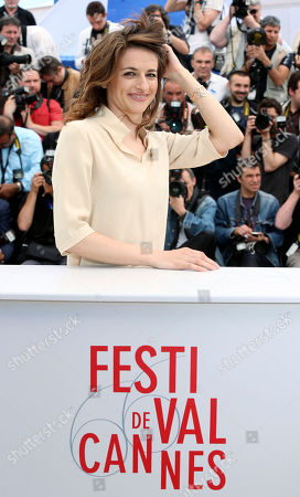 Actress Anita Kravos poses for photographs during a photo call for the film The Great Beauty at the 66th international film festival, in Cannes, southern France