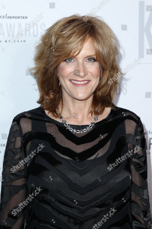 "Comedian Carol Leifer arrives at ""The Hollywood Reporter's Key Art Awards"" Powered by Clio, in Los Angeles"