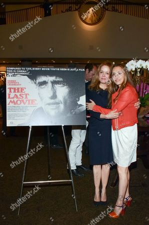 Stock Image of Marin Hopper and Ruthanna Hopper seen at The Last Movie at Paris Photo Los Angeles at the Paramount Theatre at Paramount Studios, in Los Angeles, Calif