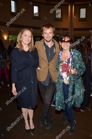 Marin Hopper, Henry Hopper, and Sophie Calle seen at The Last Movie at Paris Photo Los Angeles at the Paramount Theatre at Paramount Studios, in Los Angeles, Calif