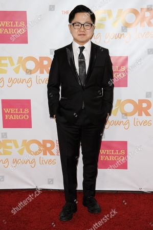 Matthew Moy arrives at TrevorLIVE Los Angeles, in Los Angeles