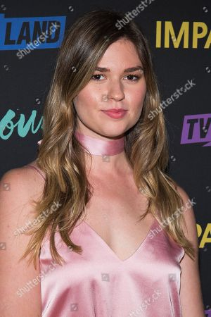 "Fiona Robert attends the season premiere party for TV Land's ""Younger"" and ""Impaster"" television shows at Vandal, in New York"