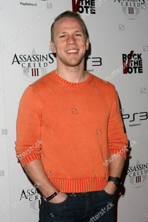 John Gammon arrives at Ubisoft's Assassin's Creed III Launch Party on in Los Angeles