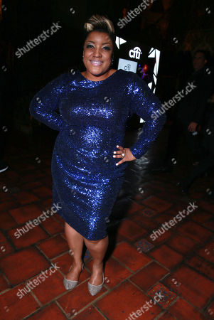 Anita Wilson seen at the Universal Music Group 2015 Grammy After Party presented by America Airlines and Citi held at The Ace Hotel, in Los Angeles