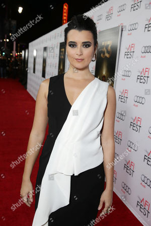 Cote de Pablo seen at Warner Bros. 'The 33' Gala Screening at AFI Fest 2015 at TCL Chinese Theater, in Hollywood, CA