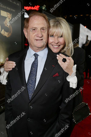 Producer Mike Medavoy and Irena Ferris seen at Warner Bros. 'The 33' Gala Screening at AFI Fest 2015 at TCL Chinese Theater, in Hollywood, CA