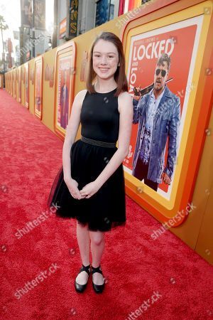 """Maddie Compton seen at Warner Bros. Premiere of """"The Nice Guys"""" at TCL Chinese Theatre, in Los Angeles"""