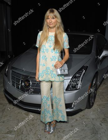 """Stock Image of Natalie Decleve celebrates design and style with Cadillac's ELR at Who What Wear + Cadillac """"Style Driven: 50 Most Stylish"""" with host Nicole Richie at The London West Hollywood hotel, in West Hollywood, Calif"""