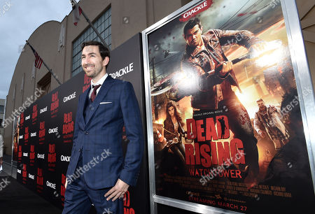 """Editorial photo of World Premiere Of Crackle's """"Dead Rising Watchtower"""", Culver City, USA - 11 Mar 2015"""