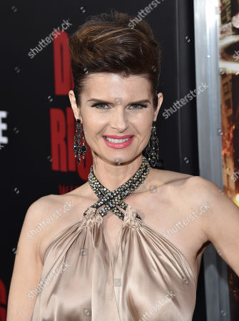 """Stock Photo of Carrie Genzel attends the world premiere of Crackle's """"Dead Rising Watchtower"""" at Sony Pictures Studios, in Culver City, Calif"""